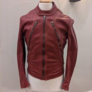 Maison Margiela, Leather 5 Zips Jacket, 50